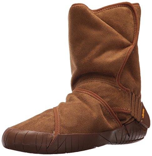 Vibram FiveFingers Unisex-Erwachsene Mid-Boot Classic Shearling Klassische Stiefel, Braun (Camel Brown Camel Brown), 46/47 EU