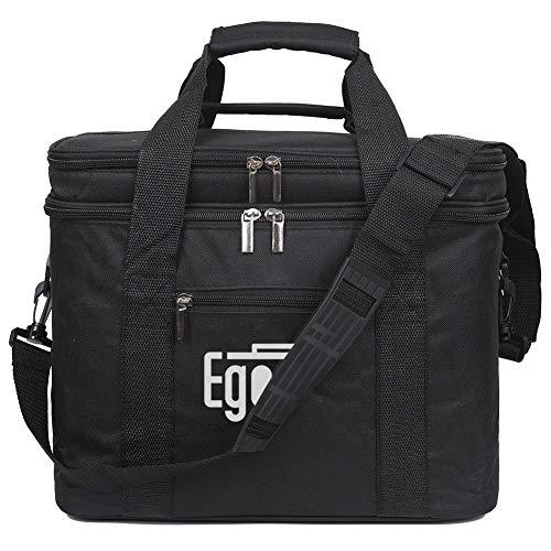EGOGO Lunchtasche Mittagessen Kühltasche Tasche Thermotasche Picknicktasche für Männer und Frauen Lebensmitteltransport E524-1 (Schwarz) (Schwarz)