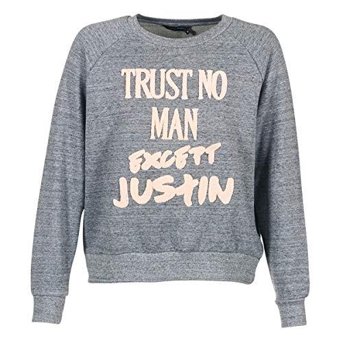 Eleven Paris TRUSTIN JP Sweatshirts und Fleecejacken Damen Grau - M - Sweatshirts