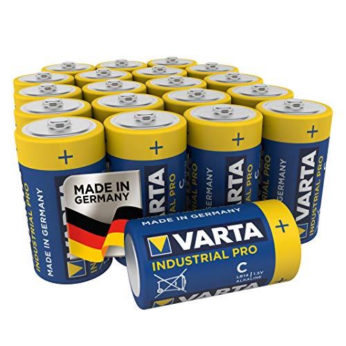Varta Industrial Pro Batterie C Baby Alkaline Batterien LR14 (20er Pack)