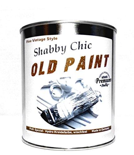 1Kg. Kreidefarbe WISCHFEST Shabby Chic Farbe abwischbar: