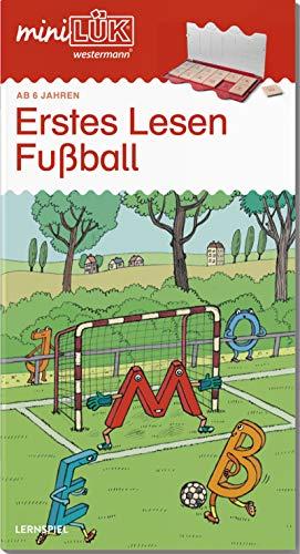 miniLÜK-Übungshefte: miniLÜK: Vorschule/1. Klasse - Deutsch: Fußball - Erstes Lesen: Vorschule / Vorschule/1. Klasse - Deutsch: Fußball - Erstes Lesen (miniLÜK-Übungshefte: Vorschule)