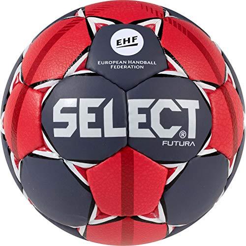 Select Unisex Jugend Futura Handball, grau rot Weiss, 0