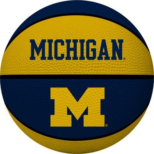 Rawlings NCAA Alley OOP Dunk Basketball, Michigan Wolverines