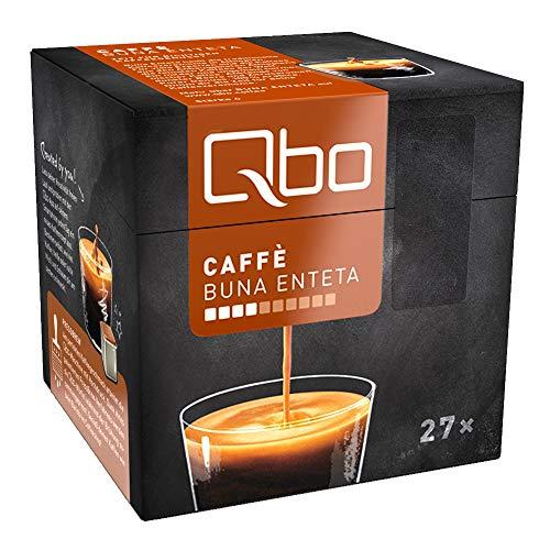 Tchibo Qbo Caffè Buna Enteta Kapseln (Kaffee, mild, dunkle Beere und Zitrus) (216 Stück)
