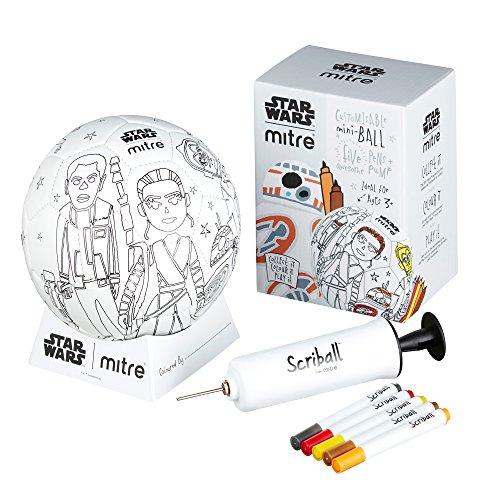 MITRE Kinder 'Star Wars bb-8scriball, weiß, mini