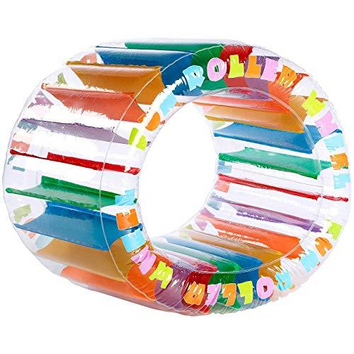 Monsterzeug Zorbing-Rad zum Aufpusten für Kinder, Aufblasbarer Zorb-Ball zum Spielen, Lauf-Rad als Outdoor-Spielzeug für den Garten