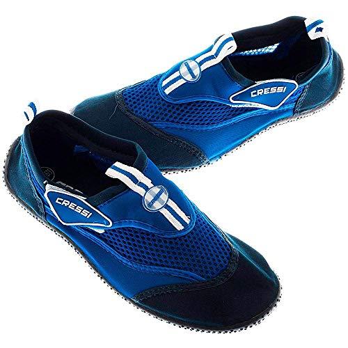 Cressi Unisex Reef Shoes Badeschuhe, blau (Hellblau), 41 EU