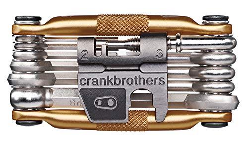 Crank Brothers Unisex– Erwachsene mutli17 Multitool, Gold, one Size