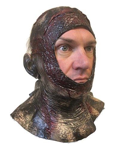 Halloween-Maske, Stil verrottende, blutige Haube, für den ganzen Kopf, vs Jason, Halloween Teil VII 7, Horror-Maske