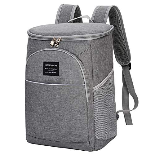 COOFIT Kühltasche Thermo Tasche kühlrucksack 24L Lunchtasche Picknickrucksack, flexibel, Futterkorb mit wasserdichtem Futter, Thermische Isolierung/Seitenteile, für Strand, Picknick, Camping, Grill