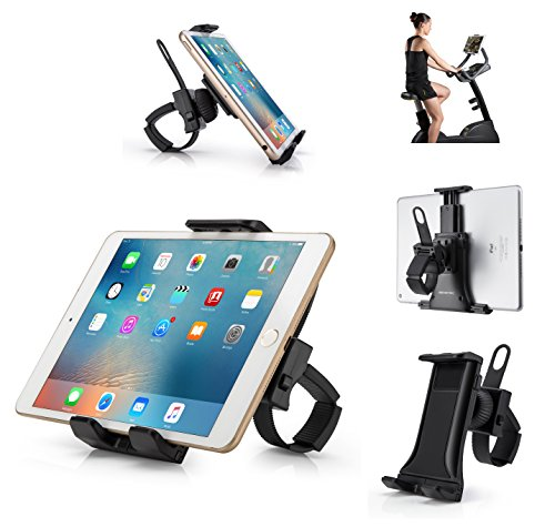 AboveTEK Fahrrad Handyhalterung Universal Phone Mount Handyhalter für Handy GPS Navi Fitnessstudio Tablet Motorrad
