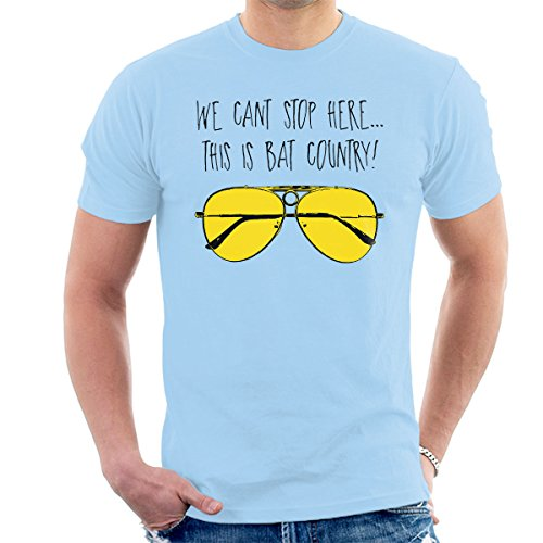 This is Bat Country Fear and Loathing In Las Vegas Men's T-Shirt