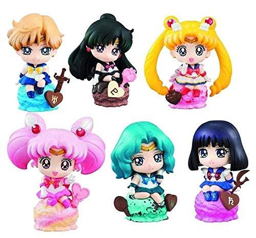 tian tian baby Sailor Moon Geburtstagsgeschenk: Petit Chara Version Eisparty Set