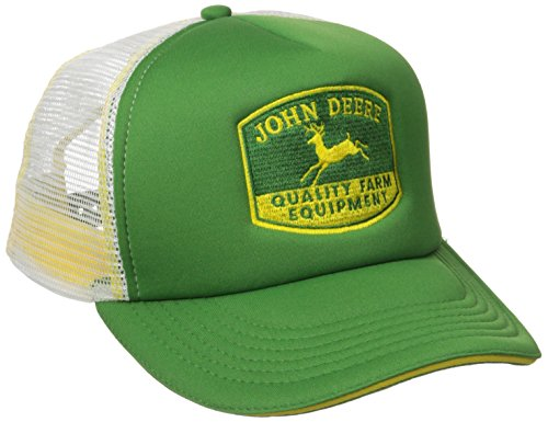 John Deere NCAA Herren Qualitäts-Equipment Foam Trucker - Grn - Einheitsgröße