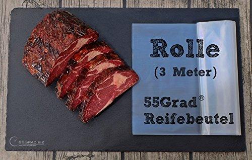 55Grad® Reifebeutel Dry Aged Beef 3 Meter Rolle