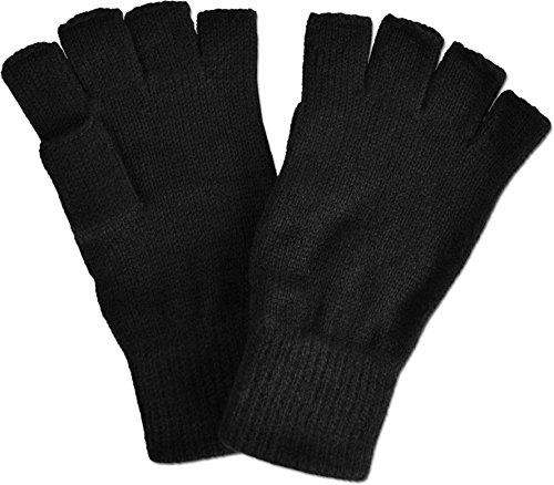 normani Fingerlose Handschuhe Farbe Black Größe S/M