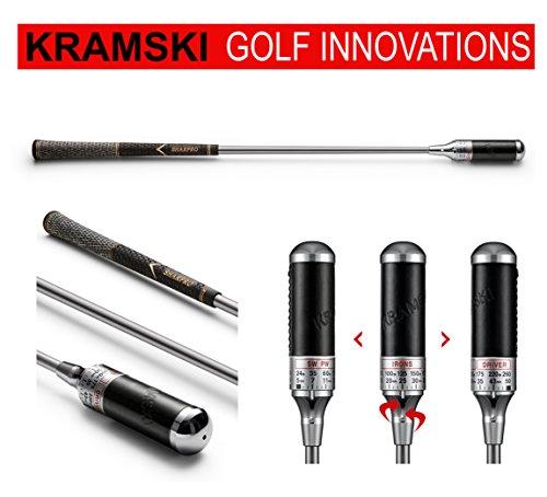 KRAMSKI Schwungtrainer One - Impact Swing Trainer + 1 x Killagolf©-Tees   das Exclusive Golfgeschenk !