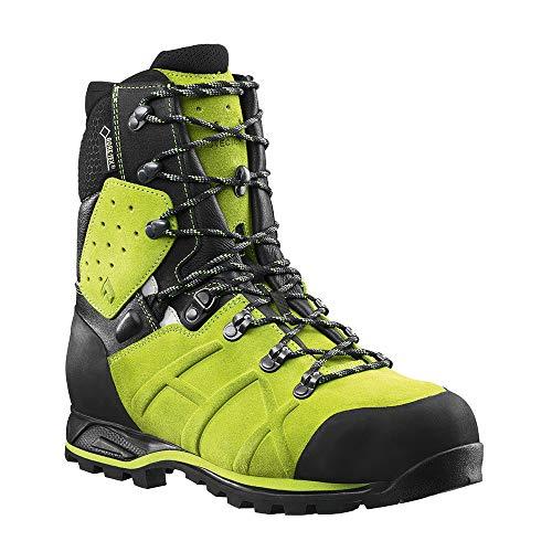Haix Protector Ultra Lime Green Forst Sicherheitsschuh garantiert mehr Schnittschutz. 38