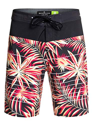 Quiksilver Herren Highline Drained Out 19 Zoll Boardshort, Black, 38