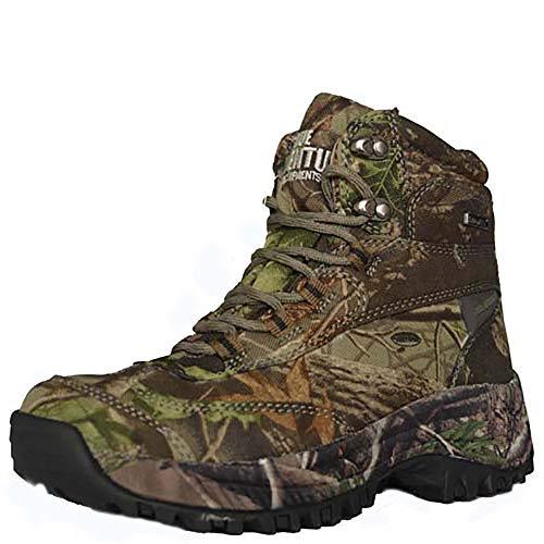 XRF Männer Im Freien wasserdichte Wanderschuhe Militär Armee Kampf Taktische Schuhe Stiefel Angeln Klettern Camouflage Schuhe,Camouflage-41EU