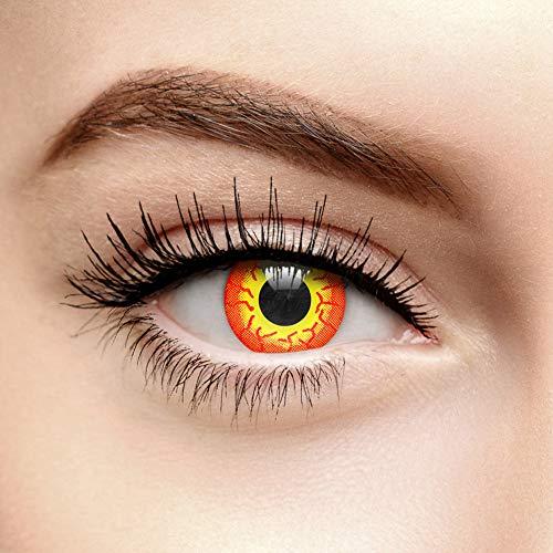 Chromaview Darth Maul Farbige Kontaktlinsen Ohne Stärke Rot (30 Tage)