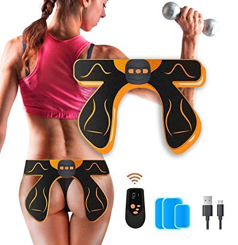 MATEHOM Po Trainer,EMS Hips Trainer,EMS Trainingsgerät zur gezielten,Butt Toner, Lifting/Shaping/Straffung der Hüfte Körper Workout Fitness für Frauen für Herren Damen 6 Modi