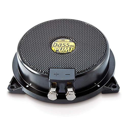 Sinuslive hochwertiger Bassshaker Körperschallwandler - BassPumpIII 11412 der Körperschallerzeuger Bodyshaker für Auto Sofa Heimkino - 4 Ohm schwarz