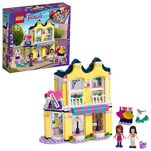 LEGO 41427 Friends Emmas Mode-Geschäft, Spielset mit Andrea und Emma