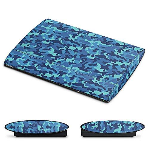 DeinDesign Skin kompatibel mit Sony Playstation 3 Superslim CECH-4000 Folie Sticker Tarnmuster Camouflage Bundeswehr