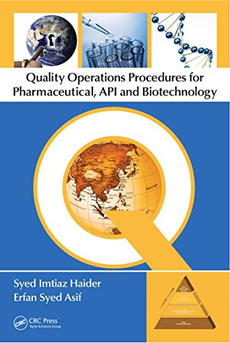 Quality Operations Procedures for Pharmaceutical, API, and Biotechnology (English Edition)