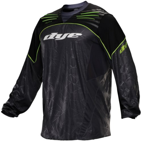 Dye Ultralite Paintball Jersey 2013 - lime, Größe:XXXL