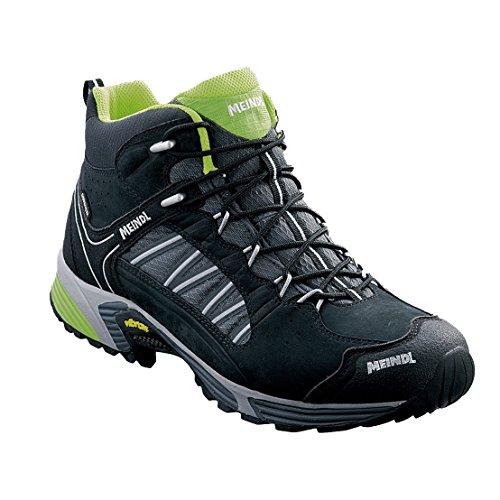 Meindl 3062–01/10, 5SX 1.1Mid GTX Schuhe für Herren, schwarz/gelb Zitrone, Größe 45