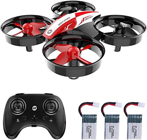 Holy Stone HS210 Mini Drohne für Kinder, RC Quadrocopter Helikopter Ferngesteuert mit 3 Akkus, 21 Min. Lange Flugzeit, Automatische Höhenhaltung,360 Flip,Headless Modus Ideal für Anfänger Mädchen