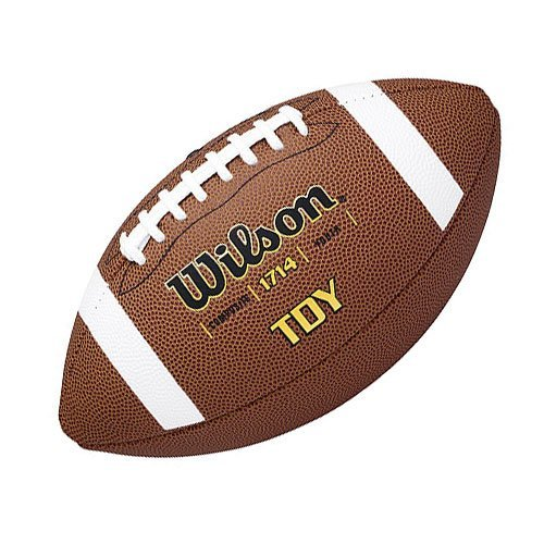 Wilson Football TDY, braun