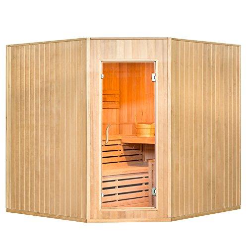 Artsauna Traditionelle Saunakabine/Finnische Sauna Aarhus 200 x 200 cm 8 kW