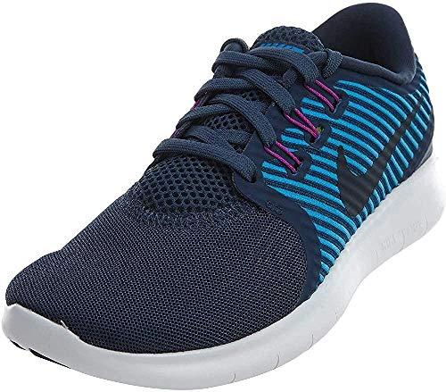 Nike Damen Free RN Commuter Laufschuhe, Mehrfarbig (Anthrazit/Gammablau/Volt/Cool Grau), 38 EU