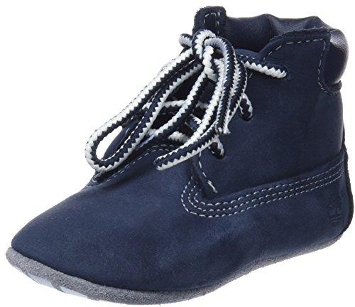 Timberland Unisex Baby Chukka Boots mit Hut , Blau (Navy Naturebuck), 18.5 EU