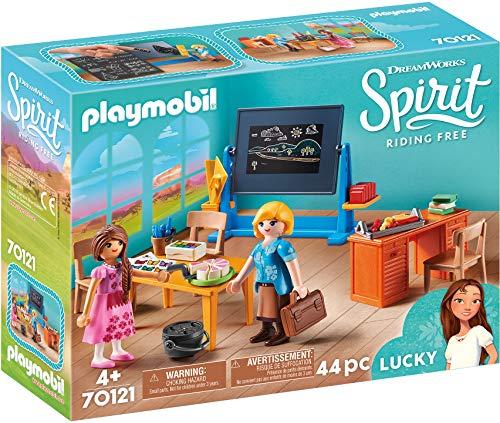 Playmobil 70121 Spirit - Riding Free Schulzimmer von Miss Flores, bunt