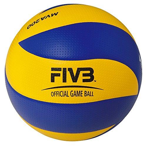 Mikasa Wettkampfspielball für die Halle MVA 200, FIVB, DVV Official