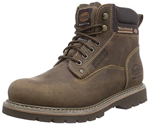 Dockers by Gerli 23DA004-400460, Herren Combat Boots, Braun (desert 460), 44 EU