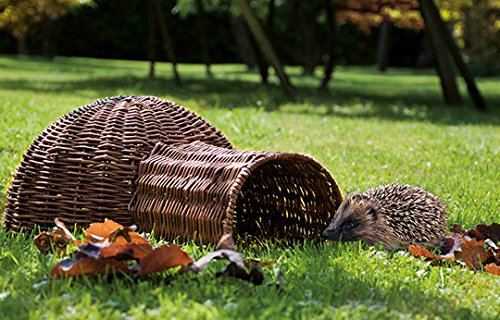 Igelhaus aus Weide - auch geeignet für Kaninchen und Nager