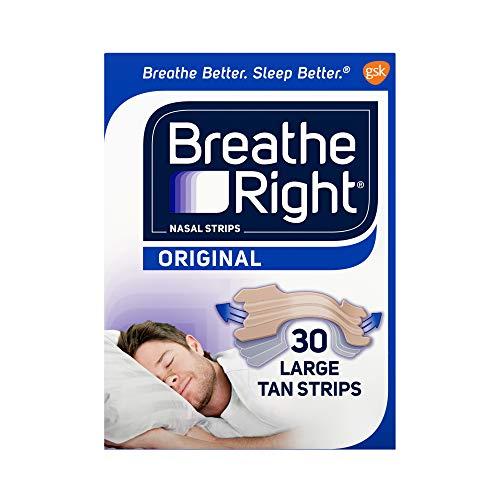 Breathe Right Large Tan Nasal Strips 30 ct aus den USA