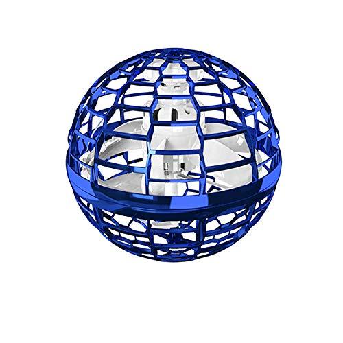 Flying Spinner Spielzeug Fliegender Ball mit bunt leuchtendem Dynamische LED-Licht Handbetriebene Drohnen Fliegender Bumerang-Spinner Indoor-und Outdoor-Spiele für Kinder Erwachsene