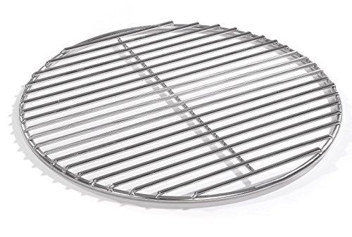90cm Grill rund Edelstahl, Kugelgrill, 4mm Stäbe Grillrost V2A für Feuerschalen Grillschalen Rundgrill