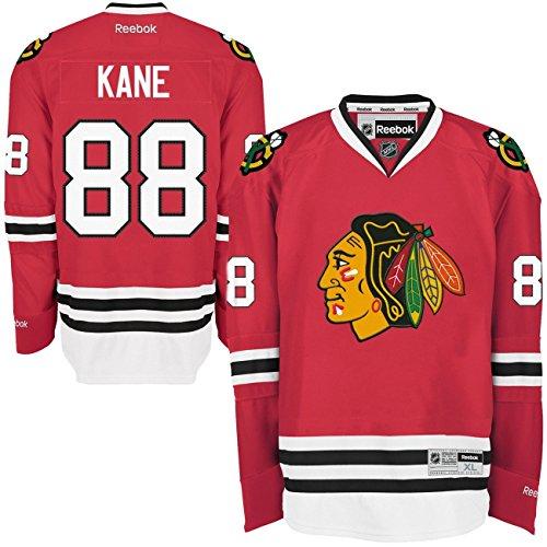 Reebok Chicago Blackhawks Patrick Kane #88 NHL Trikot Home L