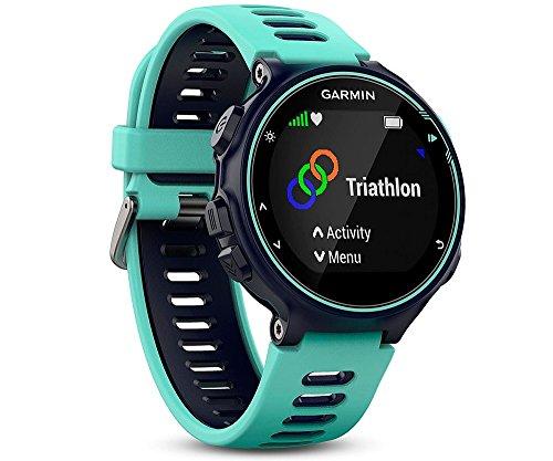 Garmin Forerunner 735XT-GPS-Uhr, frost blau, M, 010-01614-07