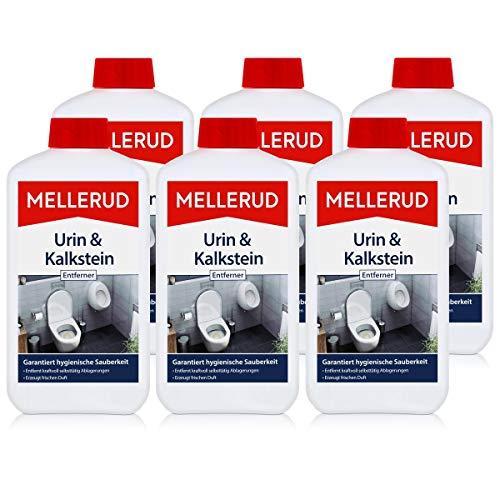 Mellerud Urin und Kalkstein Entferner 1L - Wirkt selbsttätig (6er Pack)