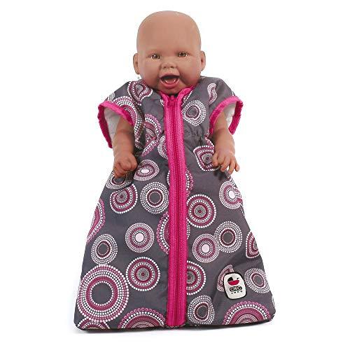 Bayer Chic 2000 792 87 Puppen-Schlafsack für Babypuppen, pink