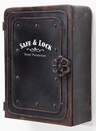 Kare Schlüsselkasten Safe Vintage-Look Tresor